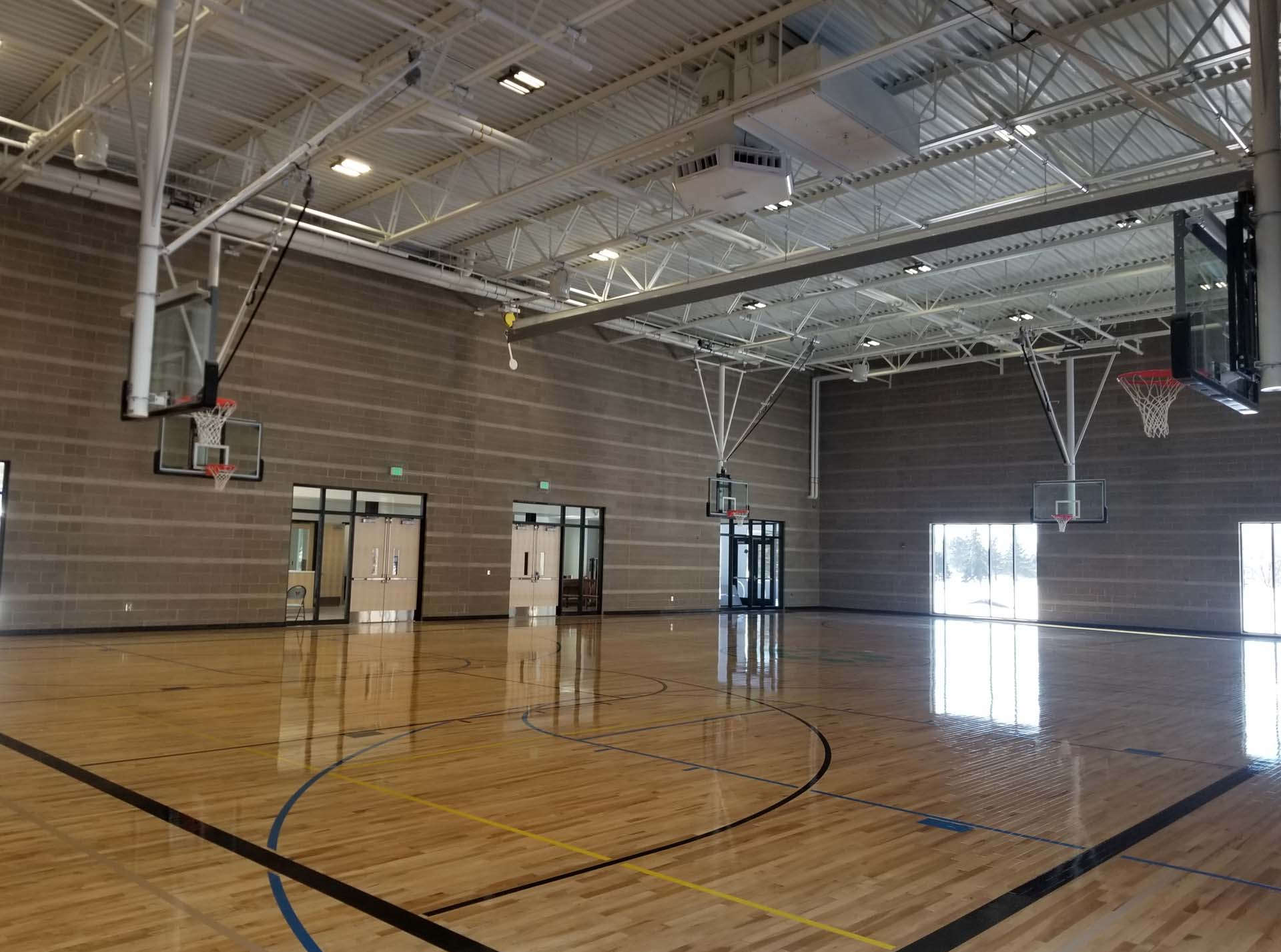 NE Athletic Field Park & Rec Building